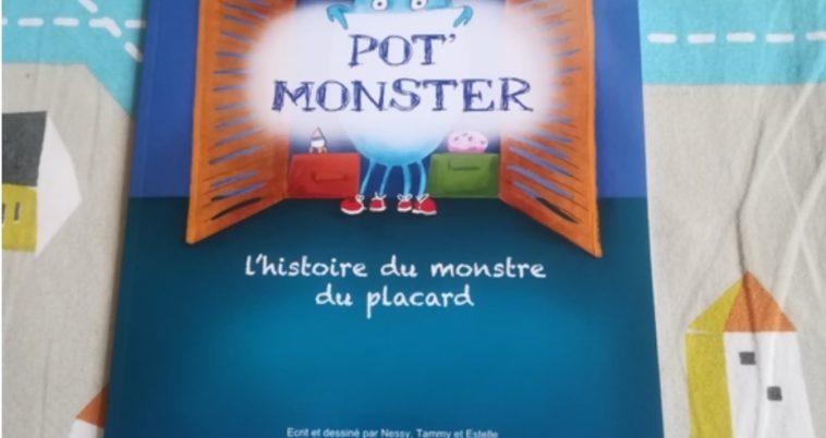 pot monster monstre du placard